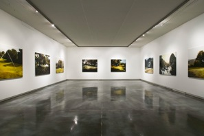 Morgan Allender, Landscape Lost exhibition view<br />helen gory galerie, melbourne