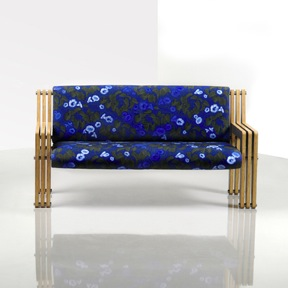 Elliat Rich's Yala Sofa in bloom (2008) Photograph by Steve Strike