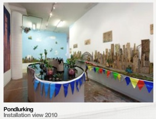 Tom Moore Pondlurking Exhibition
