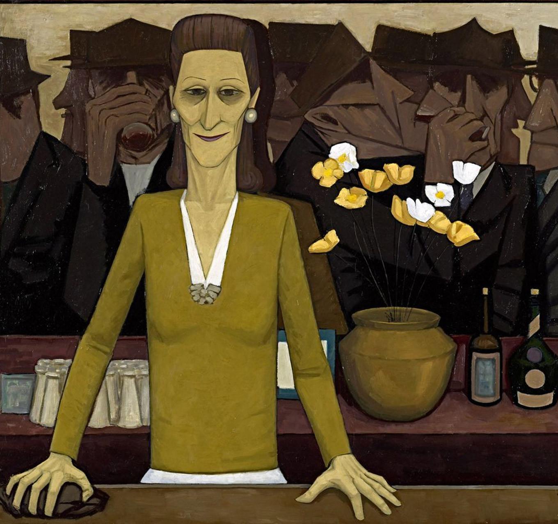 John Brack - The Bar