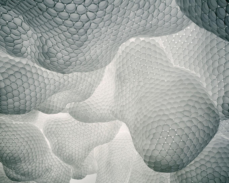 Tara Donovan's Untitled (Styrofoam cups)