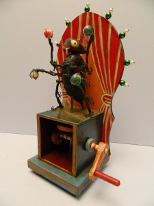 David Archer automata flea circus